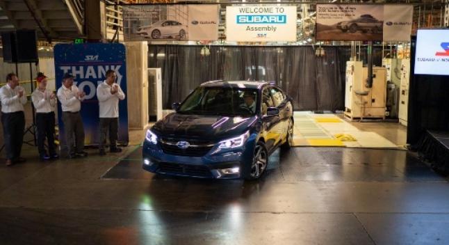 Subaru-მ ინდიანის ქარხანაში 2020 წლის Legacy-სა და Outback-ის წარმოება დაიწყო