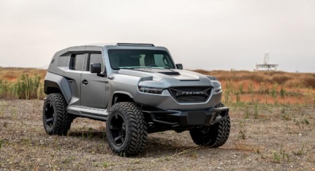 2020 წლის Rezvani Tank-ი - მსოფლიოს ყველაზე ძლიერი SUV-ი