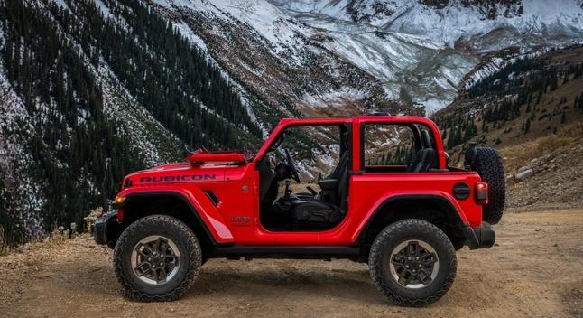 ახალი თაობის ლეგენდარული Jeep Wrangler-ი