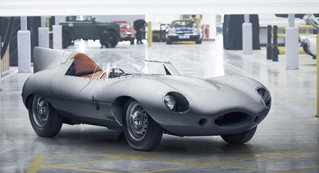 Jaguar-ი ლე მანის სამგზის გამარჯვებულ ავტომობილს აღადგენს