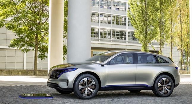 Mercedes-Benz-ი ჟენევაში სერიულ ელექტროქროსოვერს წარმოადგენს